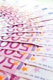 euro för 500 bakgrund Royaltyfria Foton
