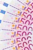 euro för 500 bakgrund Royaltyfri Foto