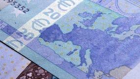 euro för 20 sedel Arkivfoton