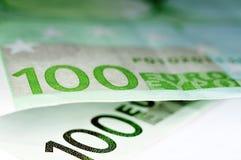 Euro factures Image libre de droits