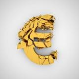 Euro fail Royalty Free Stock Photography