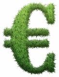 Euro fait en herbe illustration de vecteur