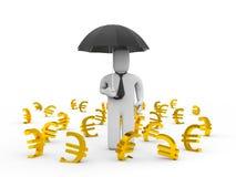 Euro fall Stock Photography
