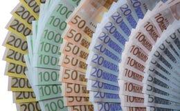 Euro fan zdjęcia stock