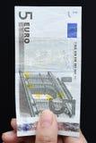 euro fem Arkivbilder
