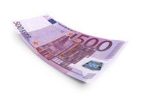 Euro femhundra Royaltyfria Bilder