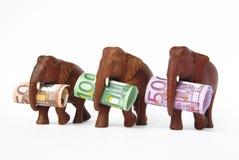Euro financiëncrisis Royalty-vrije Stock Foto's