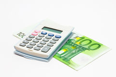 Euro finanze Fotografia Stock Libera da Diritti