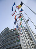 Euro Flags Stock Image