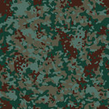Euro Flectarn Camouflage seamless patterns. Vector Illustration Royalty Free Stock Photos