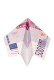 Euro-Flugzeug Stockbild