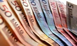 Euro fond Photos libres de droits