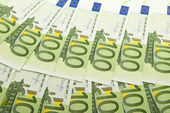 Euro fond d'argent Images stock