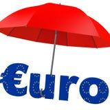 Euro fonds de renflouement illustration stock