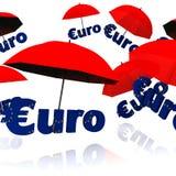 Euro fonds de renflouement illustration de vecteur