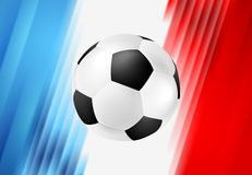 Euro Football Championship in France Stock Photography