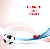 Euro Football Championship in France Stock Image