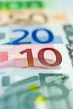 Euro- formação - 10 euro Fotos de Stock