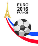 Euro 2016 France football championship Stock Photo