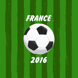 Euro 2016 France football Stock Images