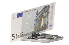 A euro- fraude Fotografia de Stock Royalty Free