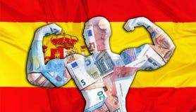 Euro fuerte de España libre illustration