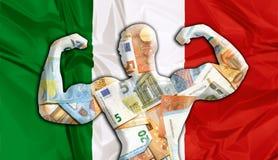 Euro fuerte de Italia libre illustration