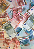 Euro- fundo Fotos de Stock