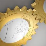 Euro gear Stock Image