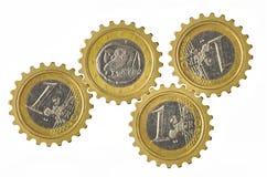 Euro Gears Royalty Free Stock Photos