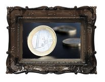 Euro geld Royalty-vrije Stock Afbeelding