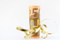 Euro geld Royalty-vrije Stock Afbeeldingen