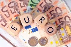 Euro geld Stock Afbeeldingen
