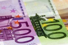 Euro geld Stock Afbeelding