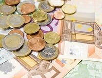 Euro geld Royalty-vrije Stock Foto's