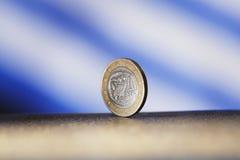 Euro grec Photos libres de droits