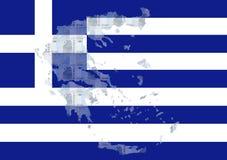 Euro grecs Images libres de droits