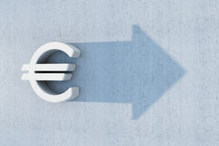 Euro is grow stock illustration