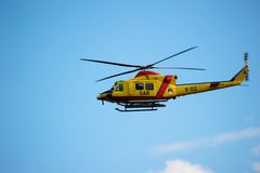 Euro Helicopter at Sunderland Air Show Royalty Free Stock Photo