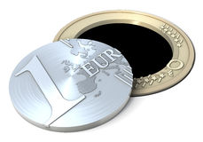 Euro hole, drain Stock Images