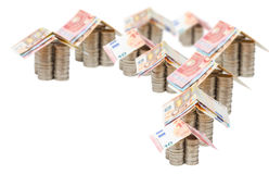 Euro, Homes, Investment, Real Estate Stock Images