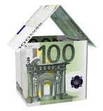 Euro house Royalty Free Stock Images
