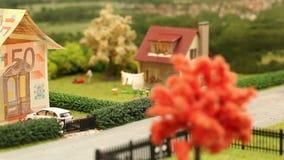 Euro house neighbourhood stock video