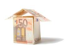 Euro huis Stock Fotografie