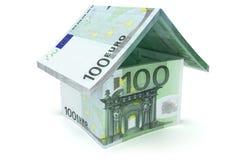 100 Euro Huisteken vector illustratie