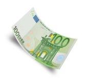 euro hundra Arkivbild