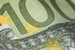 euro hundra en Arkivfoton
