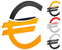 Euro icon Stock Photo