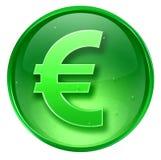 Euro icon. Stock Photo