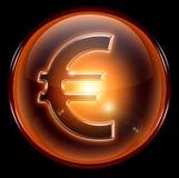 Euro icon. Royalty Free Stock Photography
